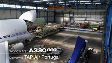 In the making: TAP Air Portugal's first A330-900