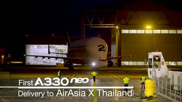 In the making: first A330neo for Thai AirAsia X
