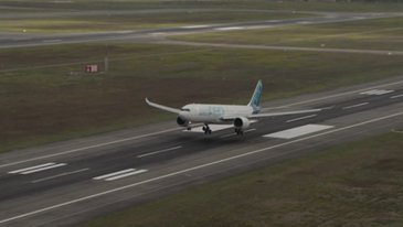 A330neo First Flight Footage