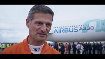 A330neo First Flight interviews
