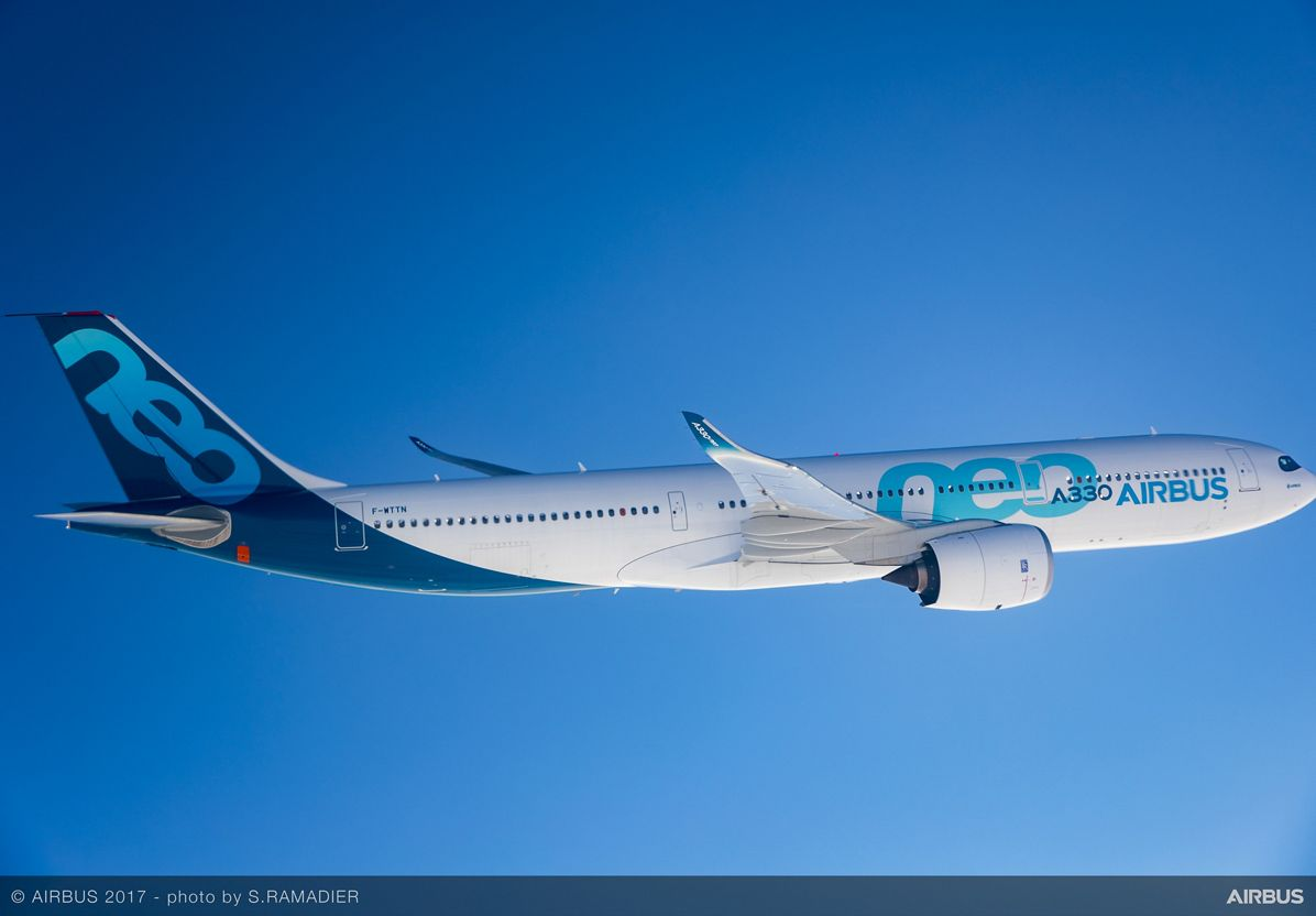 A330neo First Flight in flight 5