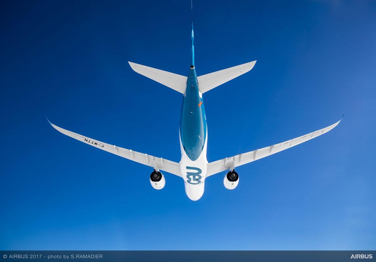 A330neo First Flight in flight 4
