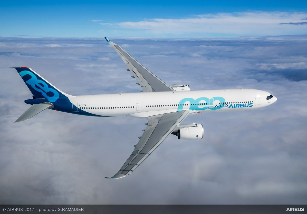 A330neo takes to the skies