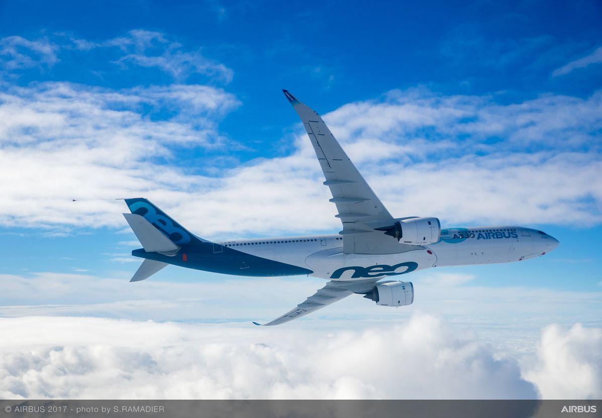 A330neo First Flight in flight 2