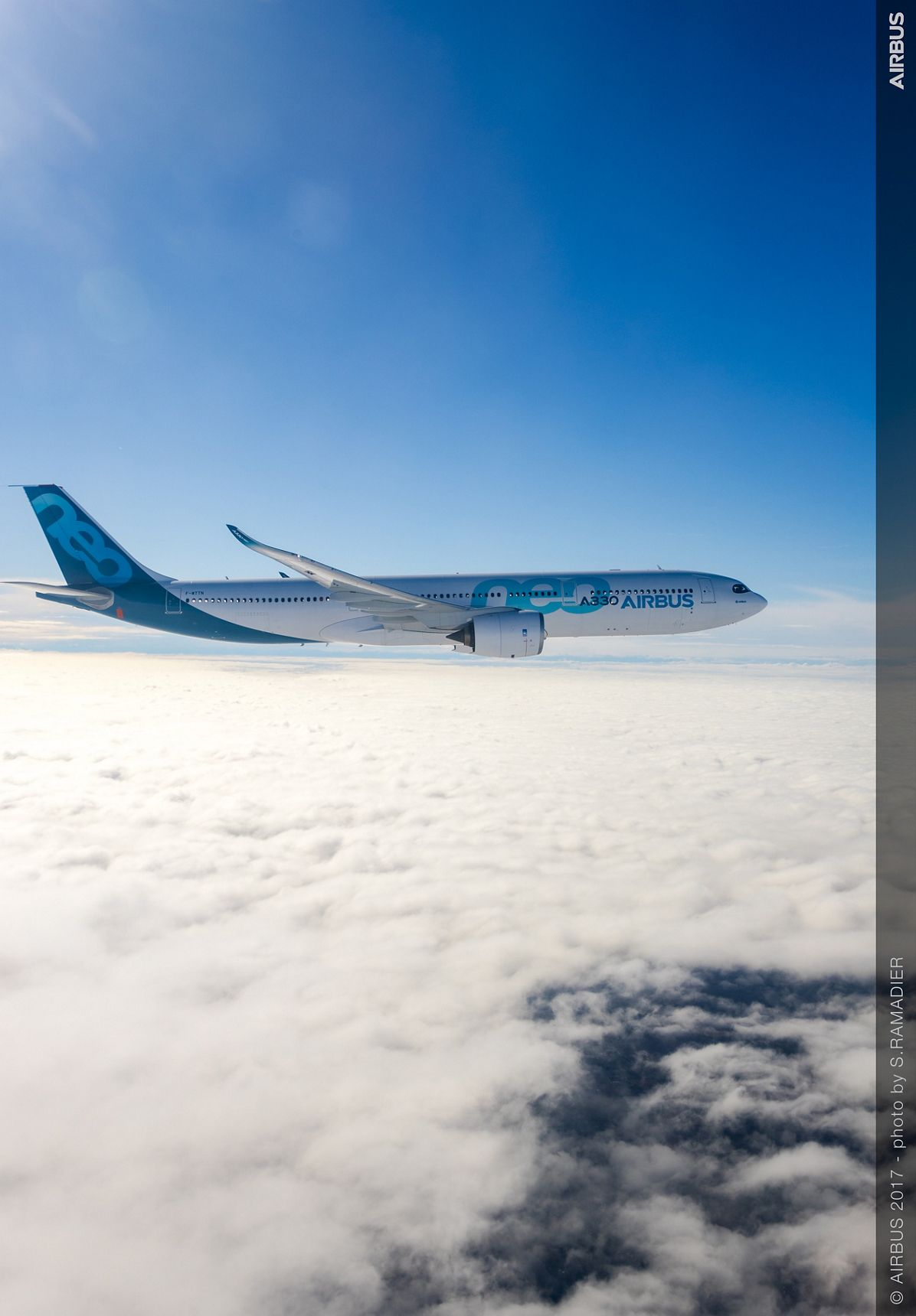 A330neo First Flight in flight 1