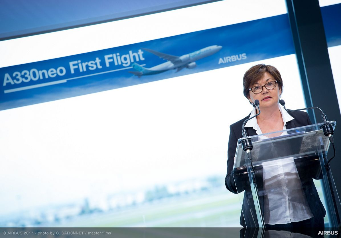 A330neo First Flight press conference