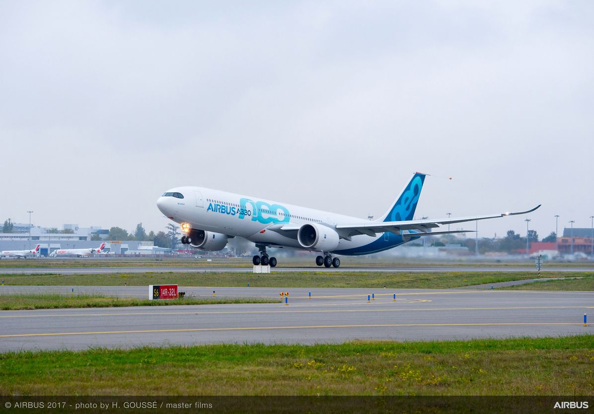 A330neo First Flight take-off 11