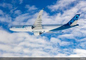 A330neo First Flight - In Flight