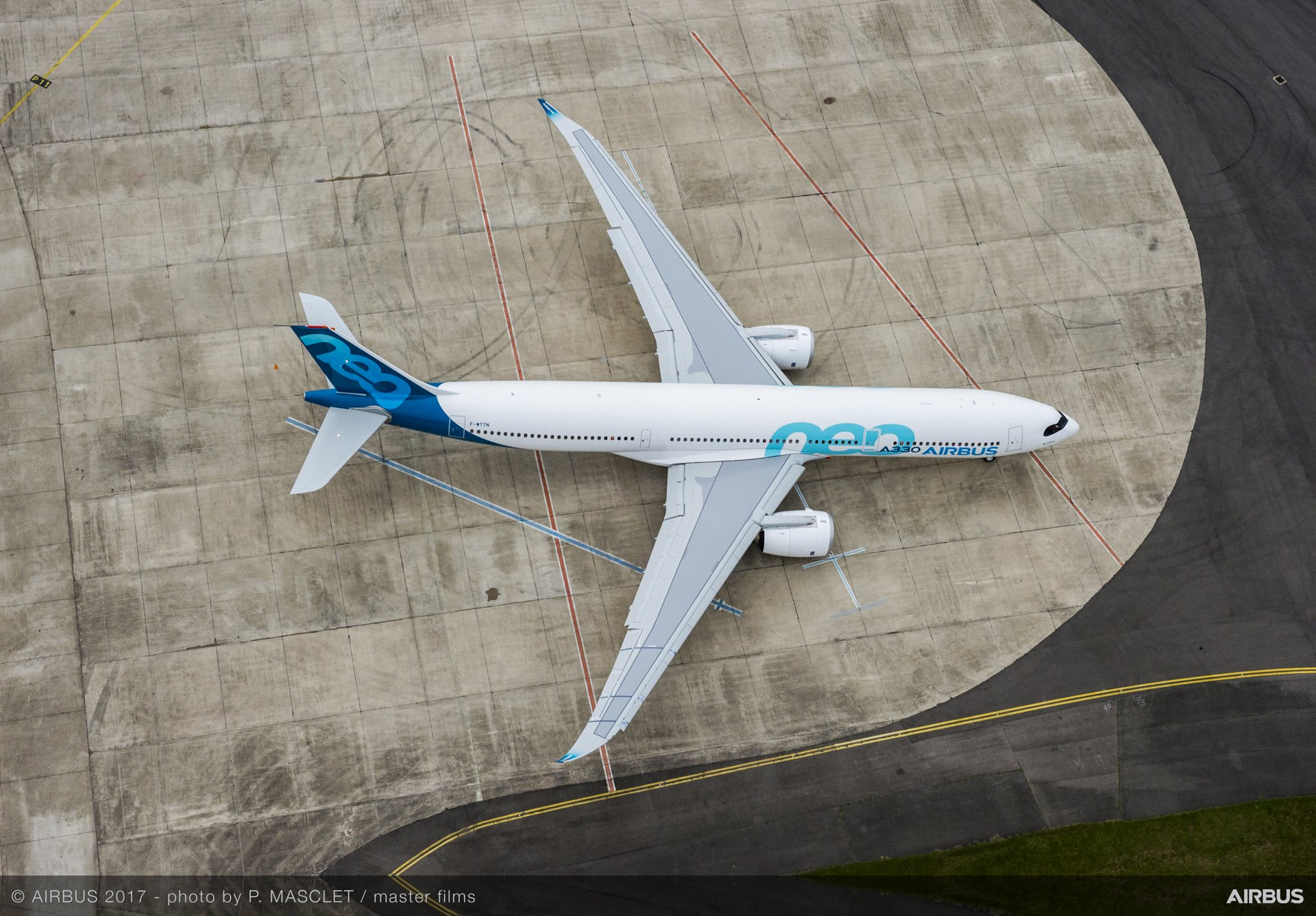 Performing the maiden flight of Airbus' A330neo was an A330-900 variant, which will be joined by two other dedicated flight-test aircraft to perform all flight testing in under one year for both the A330-900 and A330-800 versions