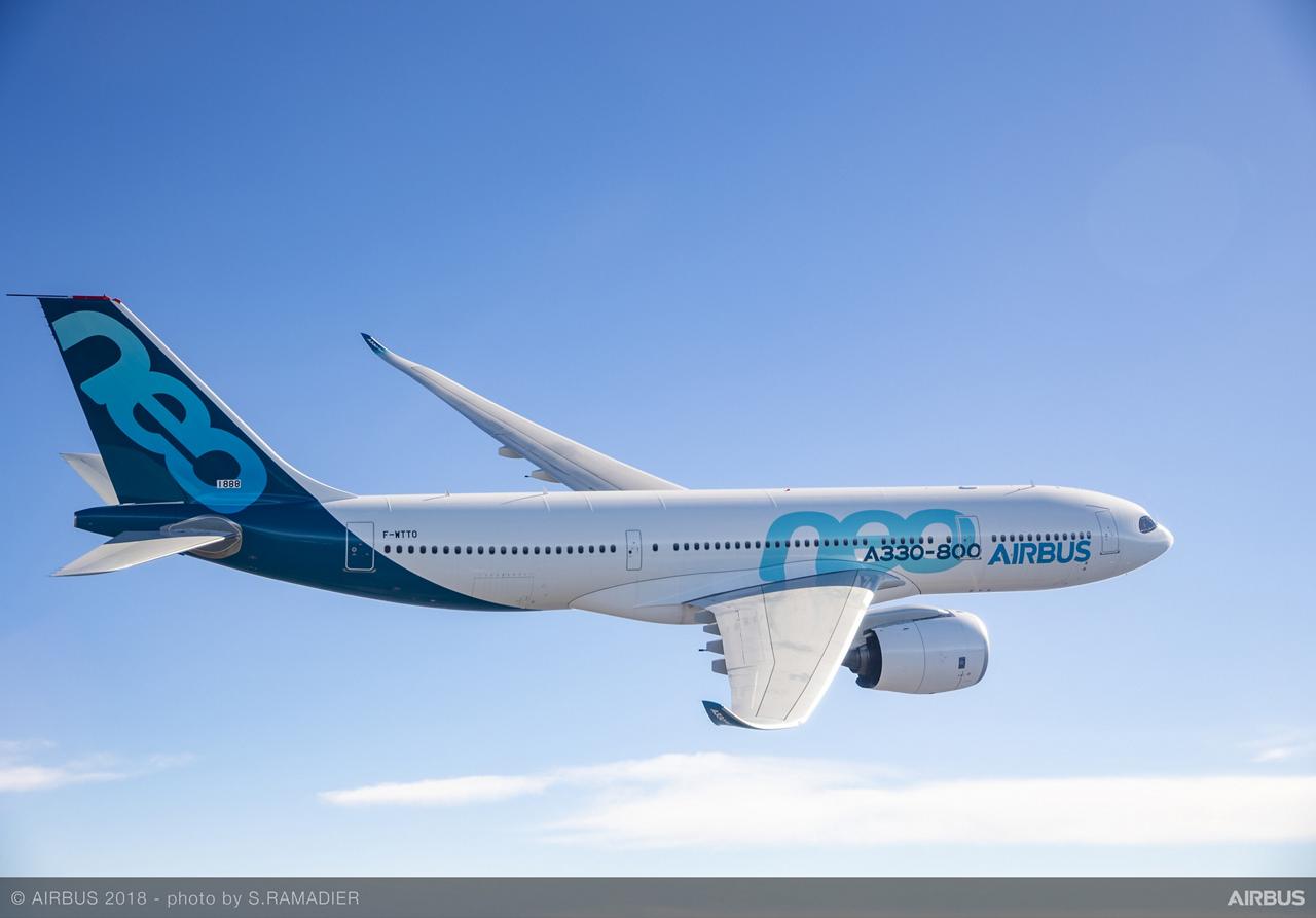 A330-800 In Flight