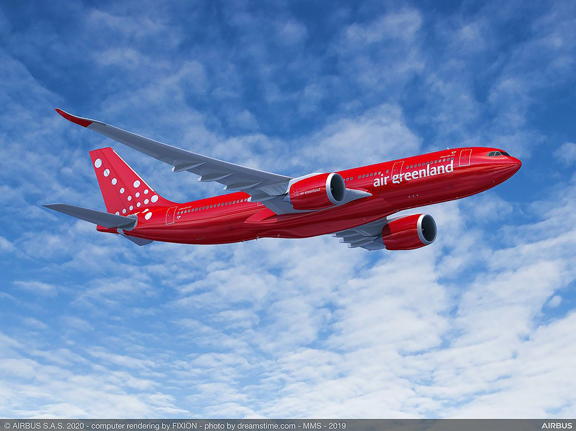 Flag carrier Air Greenland selected Airbus' A330-800 to secure operations linking the Arctic island with neighbouring country Denmark