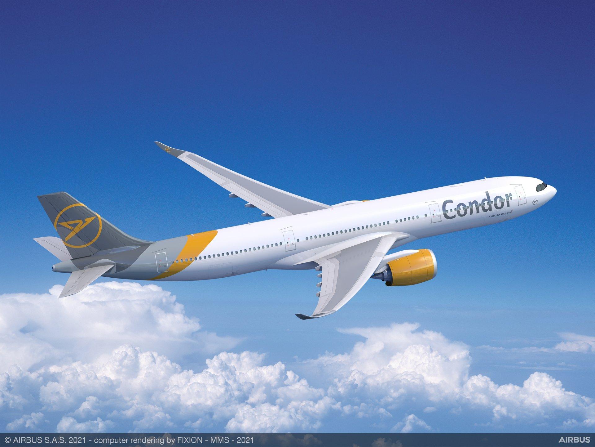 A330-900 Condor (computer rendering)