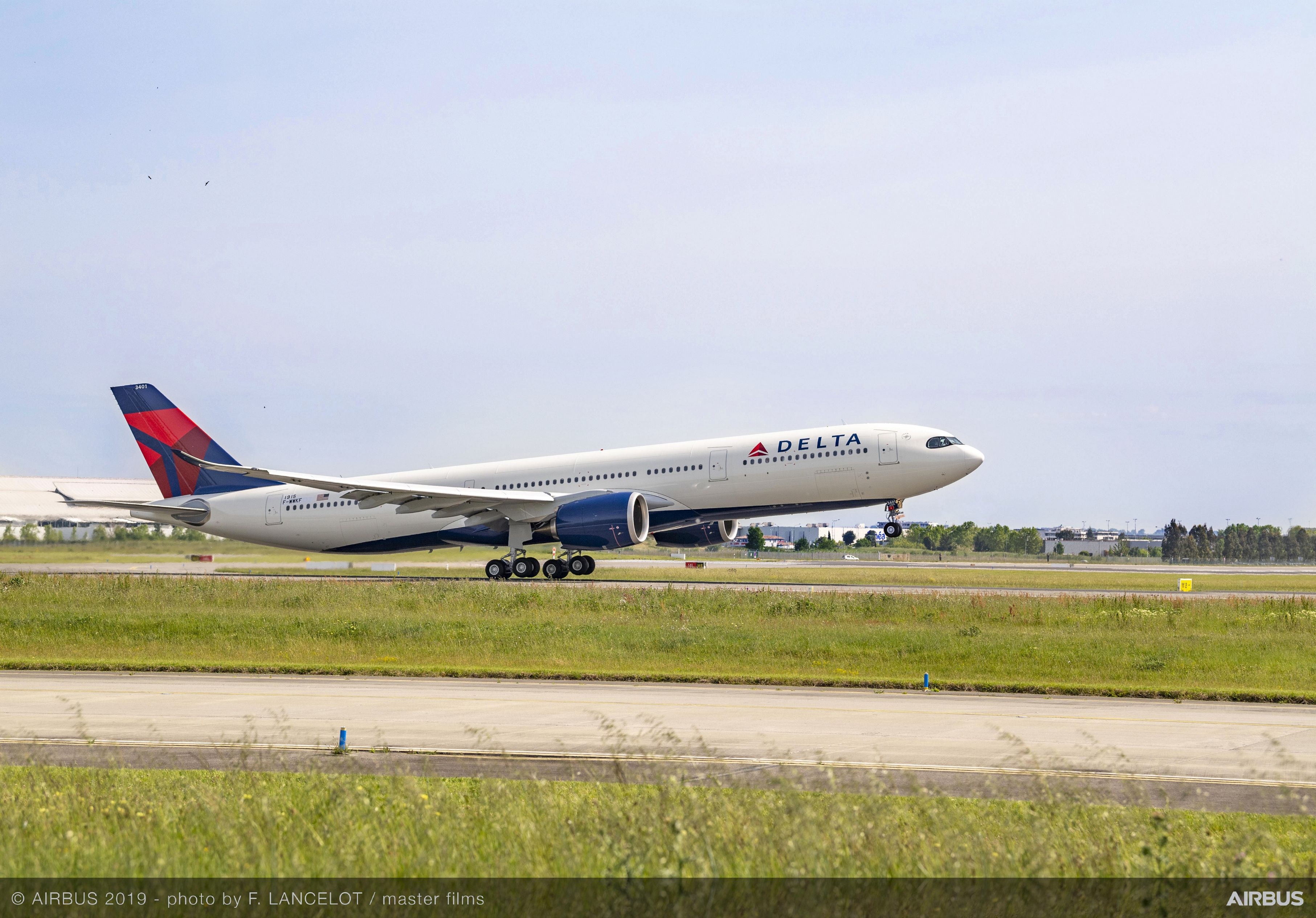 First A330-900Neo delivered to Delta Air Lines today : aviation