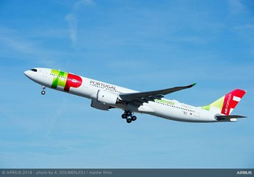 TAP Air Portugal A330-900 takeoff