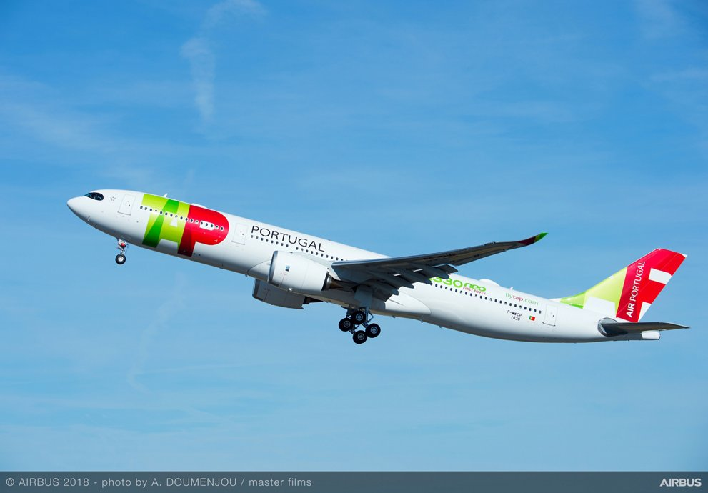 A330neo TAP Portugal MSN1836 Take Off