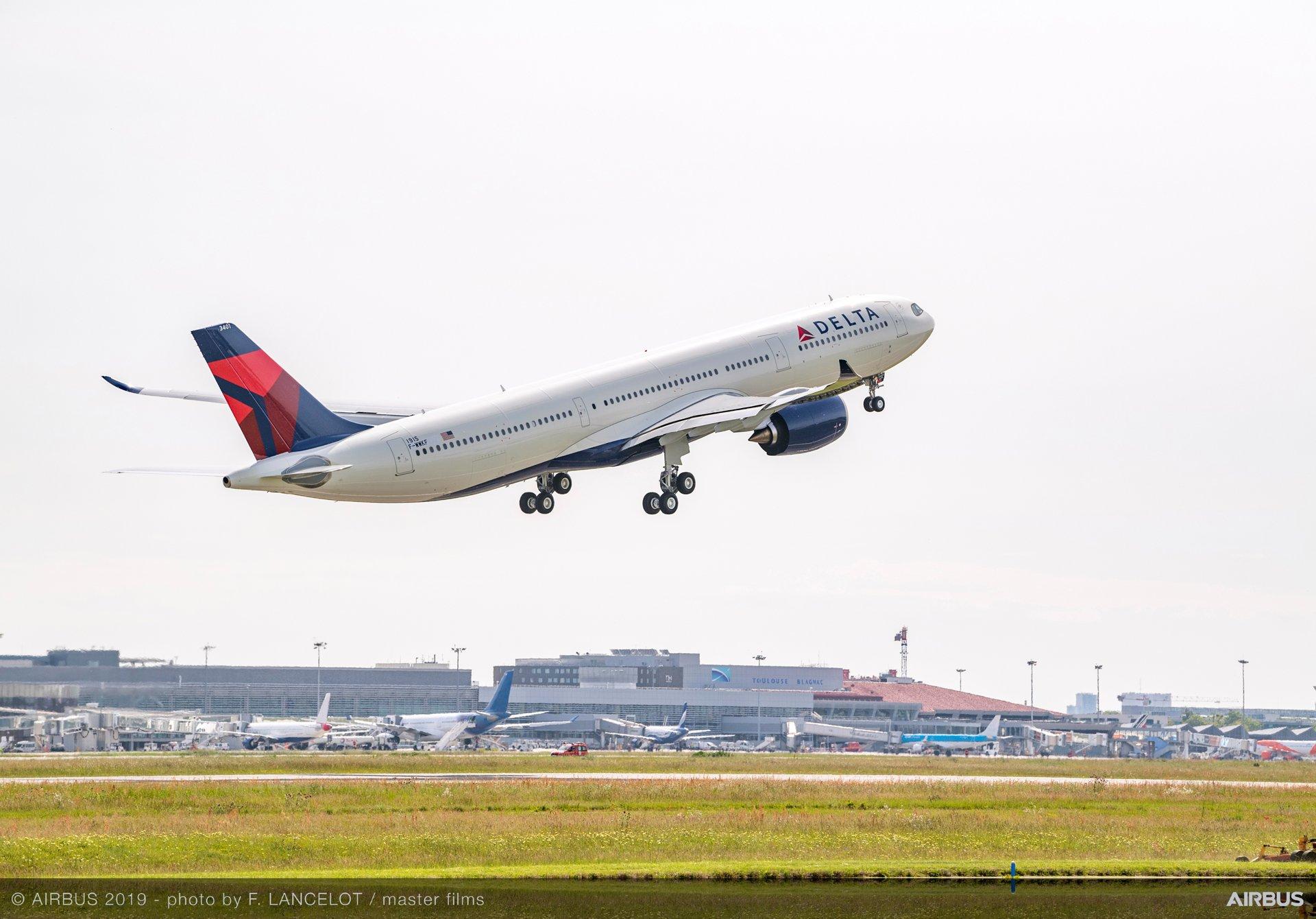 Delta Air Lines' A330-900