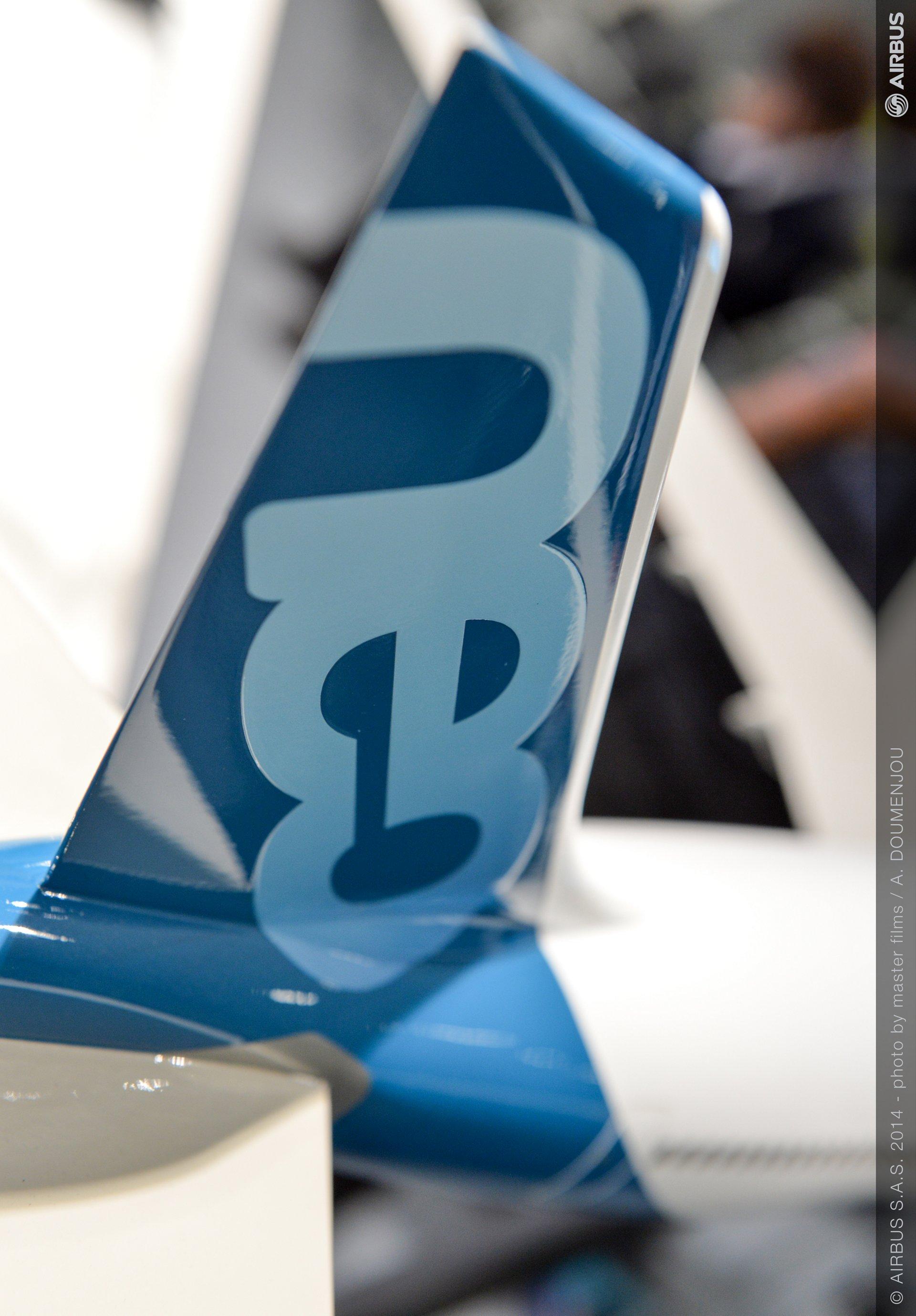 Farnborough Day 4 ambiance – A330neo model 1