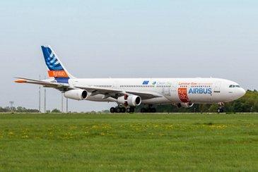 A340 BLADE landing at ILA
