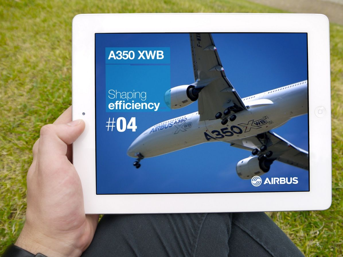"""It's """"full speed ahead"""" with Airbus' latest A350 XWB magazine issue"""