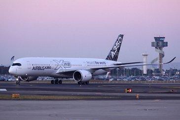 A350 XWB route proving: Sydney, Australia