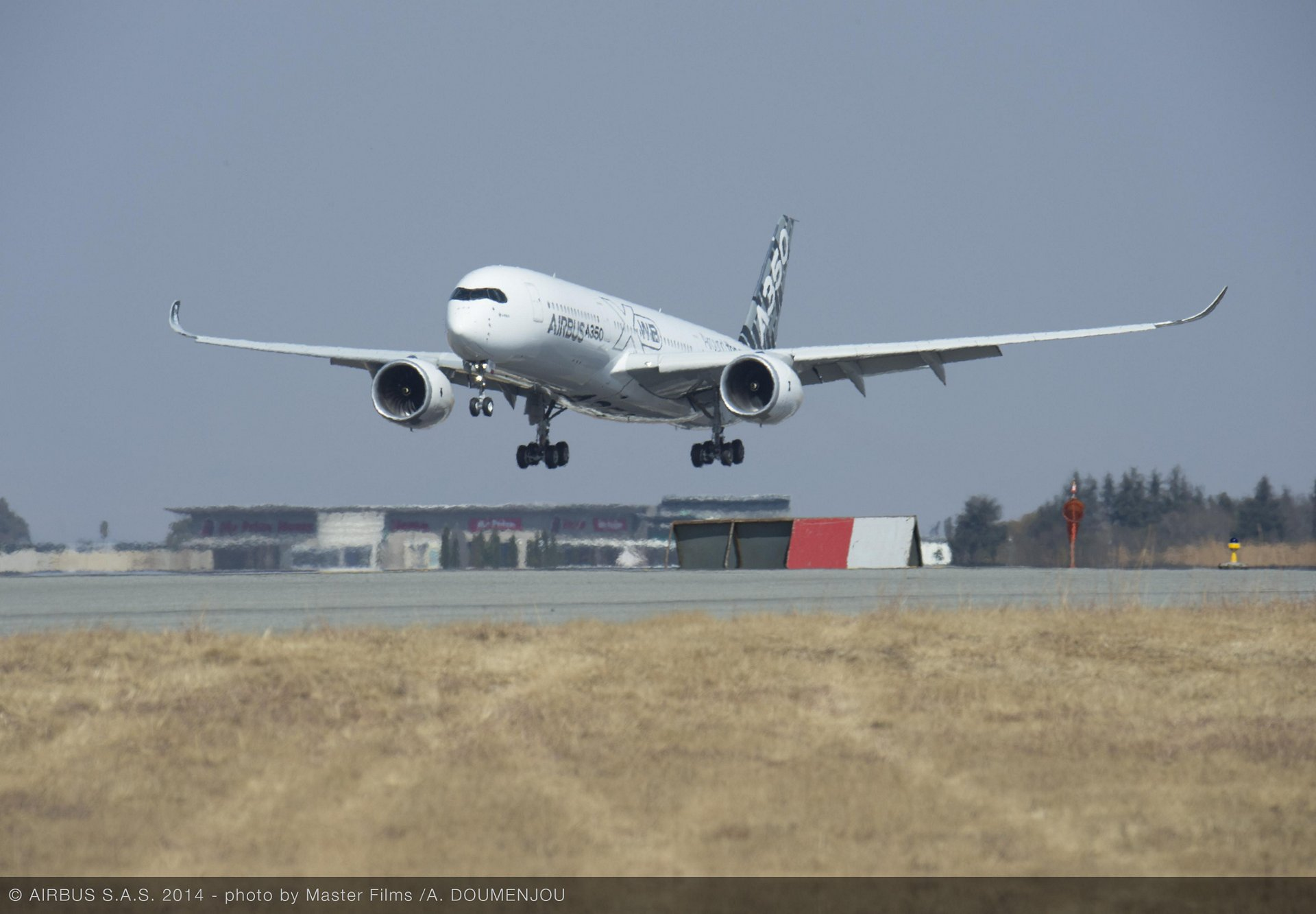 A350 XWB route proving – Johannesburg 1