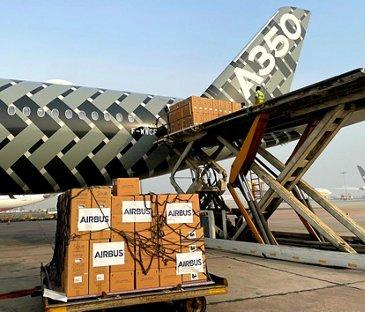 乐动体育app靠谱吗空中客车公司将一批货物从图卢兹运往新德里
