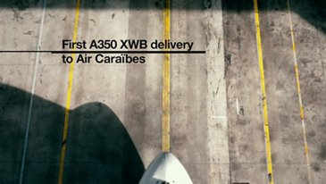In the making: Air Caraïbes' first A350 XWB