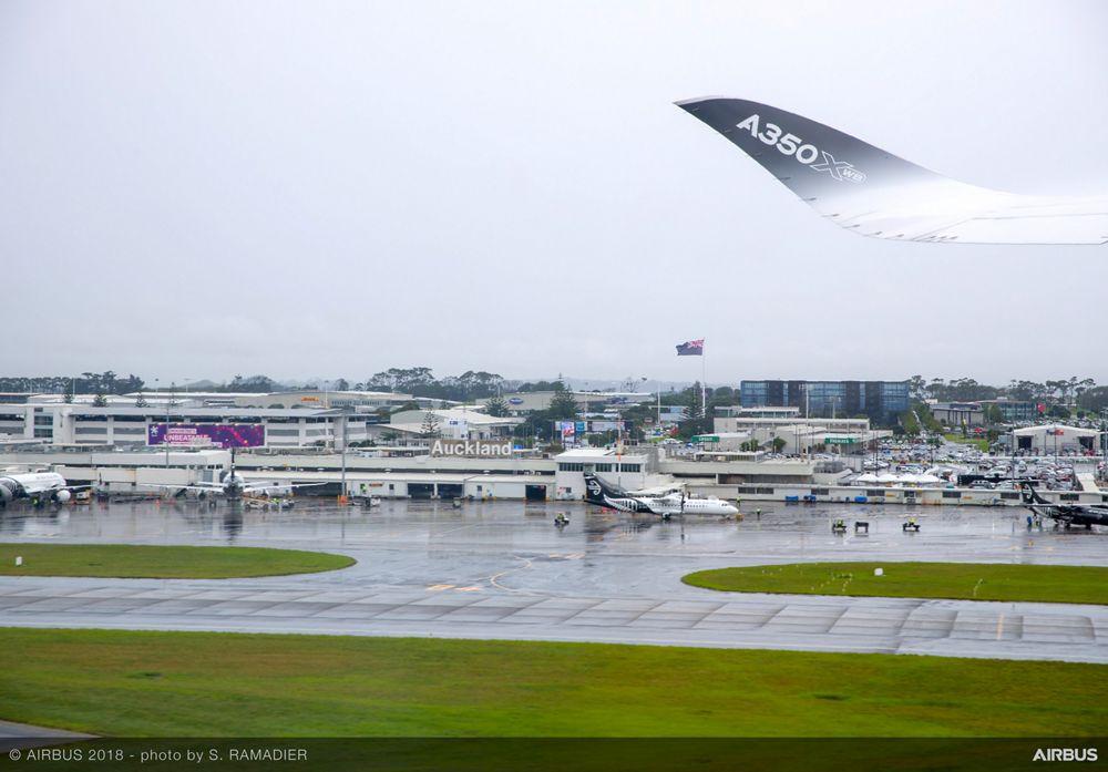Airbus A350-1000 demo tour – Auckland/Tokyo 1