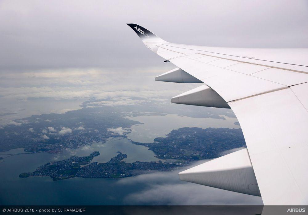 Airbus A350-1000 demo tour – Auckland/Tokyo 2