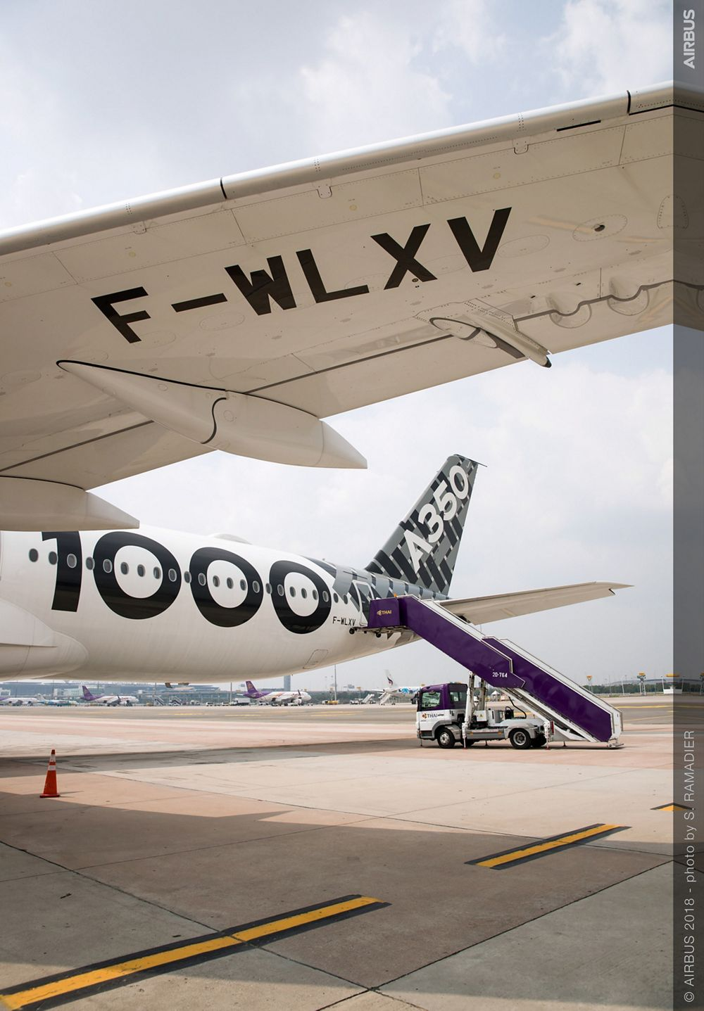 Airbus A350-1000 demo tour – Bangkok 1