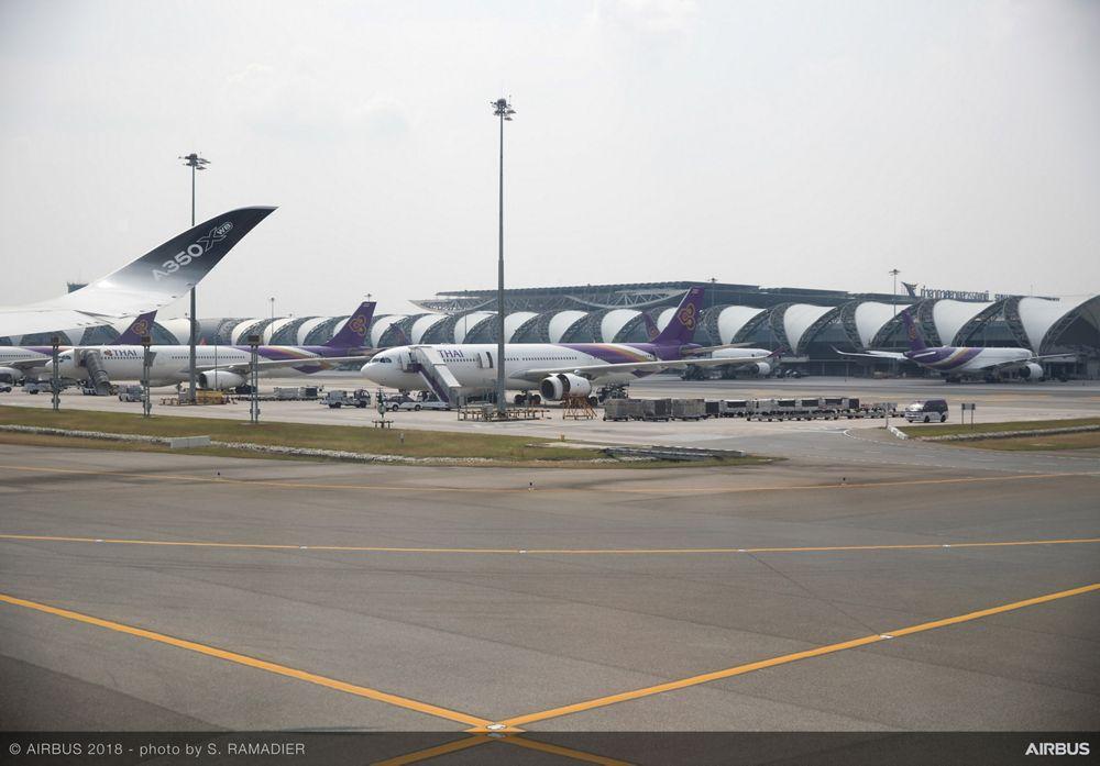 Airbus A350-1000 demo tour – Bangkok 3