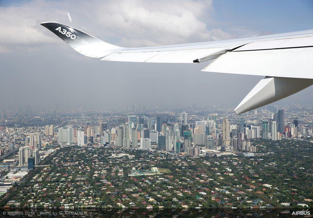 Airbus A350-1000 demo tour – Manila 3