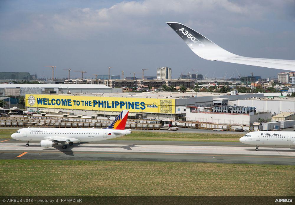 Airbus A350-1000 demo tour – Manila 2