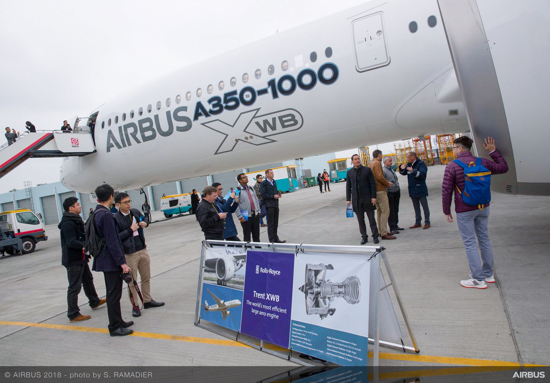 Airbus A350-1000 demo tour 33