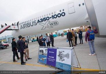 Airbus A350-1000 demo tour 33