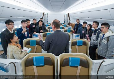 Airbus A350-1000 demo tour 34