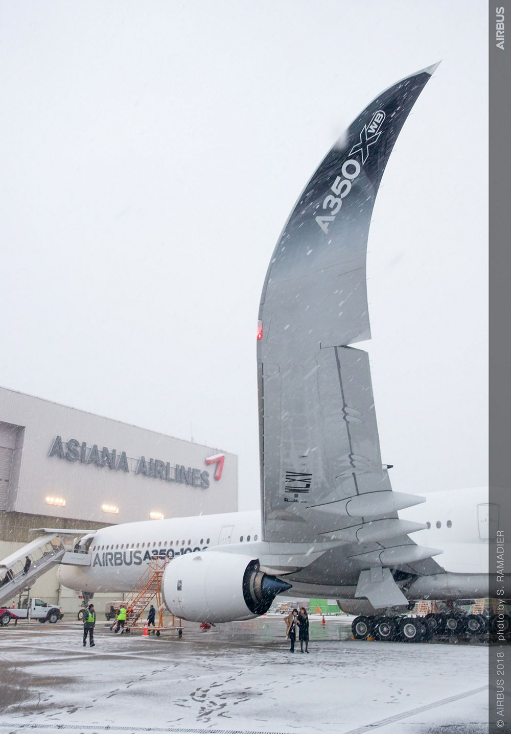 Airbus A350-1000 demo tour – Seoul 2