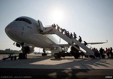 Airbus A350-1000 demo tour – Singapore 1