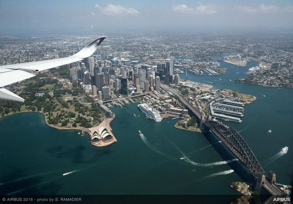 Airbus A350-1000 demo tour – Sydney 3