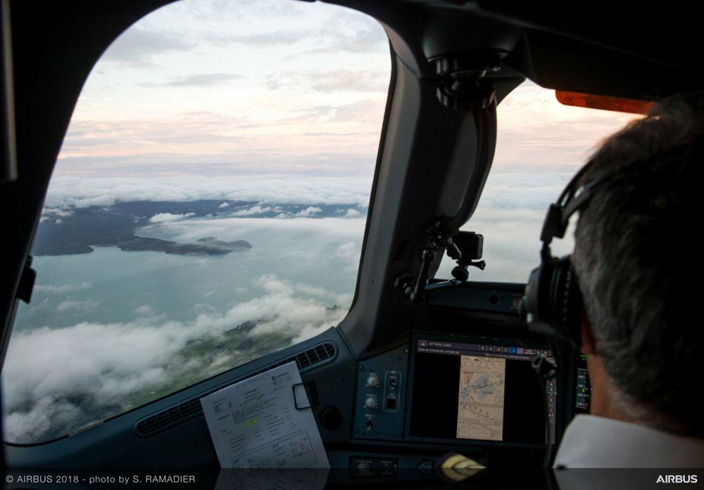 Airbus A350-1000 demo tour – Sydney/Auckland 2