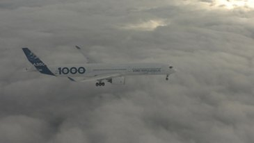 A350-1000-FIRST FLIGHT - IN FLIGHT