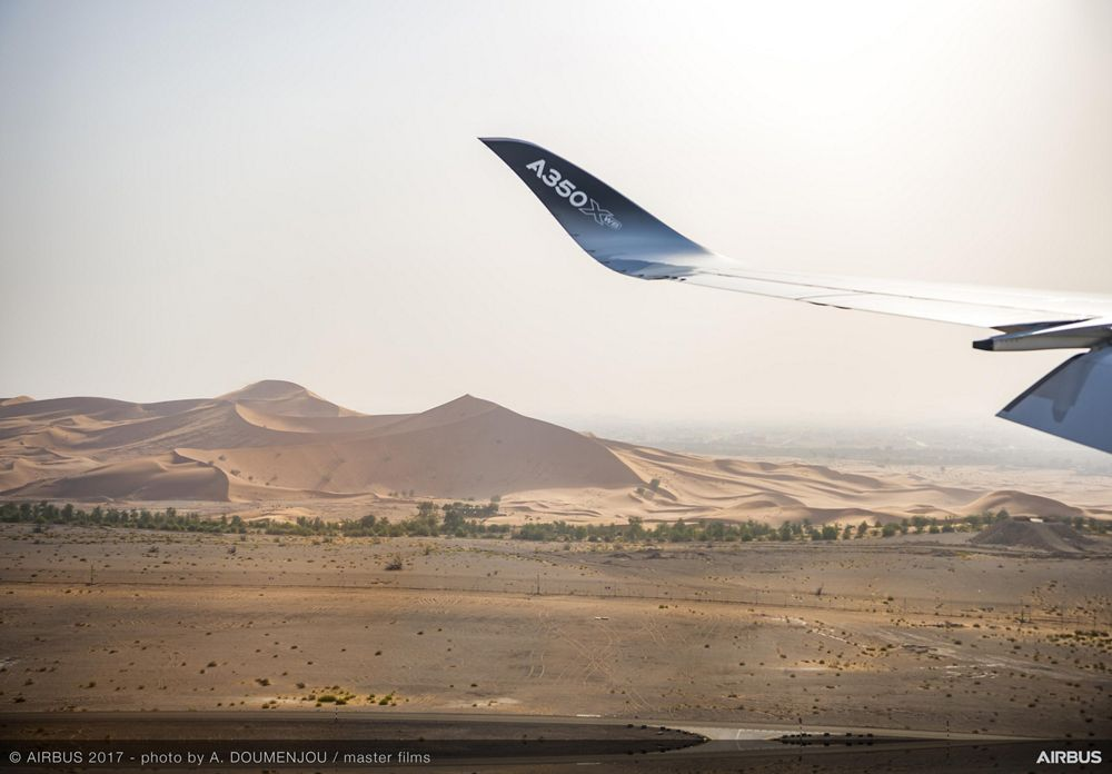 A350 1000 HOT WEATHER TEST CAMPAIGN 01