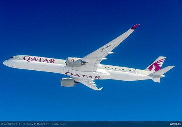 A350-1000 Qatar Airways Delivery