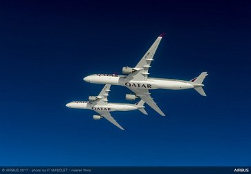Airbus delivers the first A350-1000 – 3
