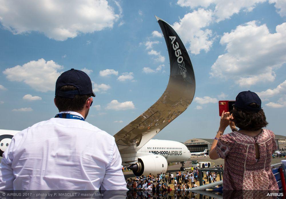 A350 1000 Static Display - 21 June PAS 2017