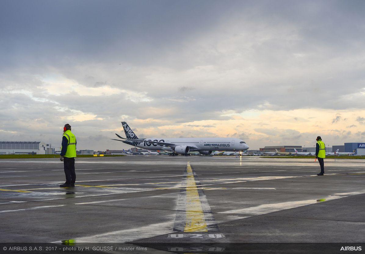 A350-1000_Early Long Flight – preflight