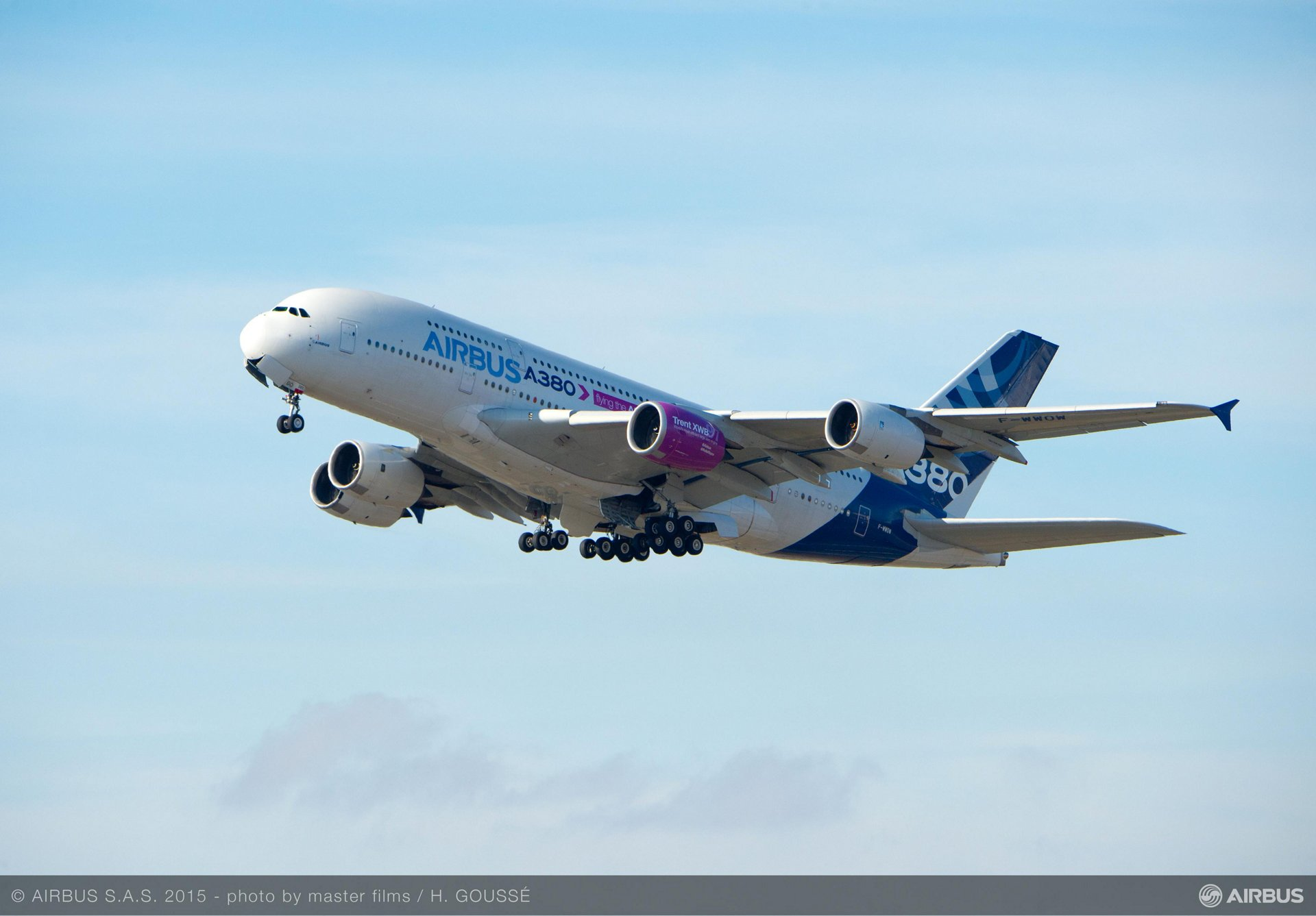 Trent XWB-97 begins flight-test campaign on A380 flying test bed_1