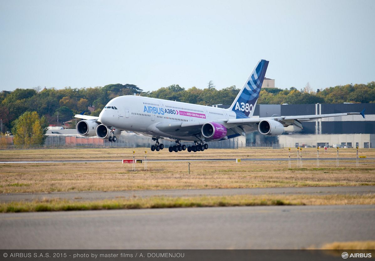 Trent XWB-97 begins flight-test campaign on A380 flying test bed_2