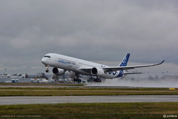 A350 1000 First Flight 2