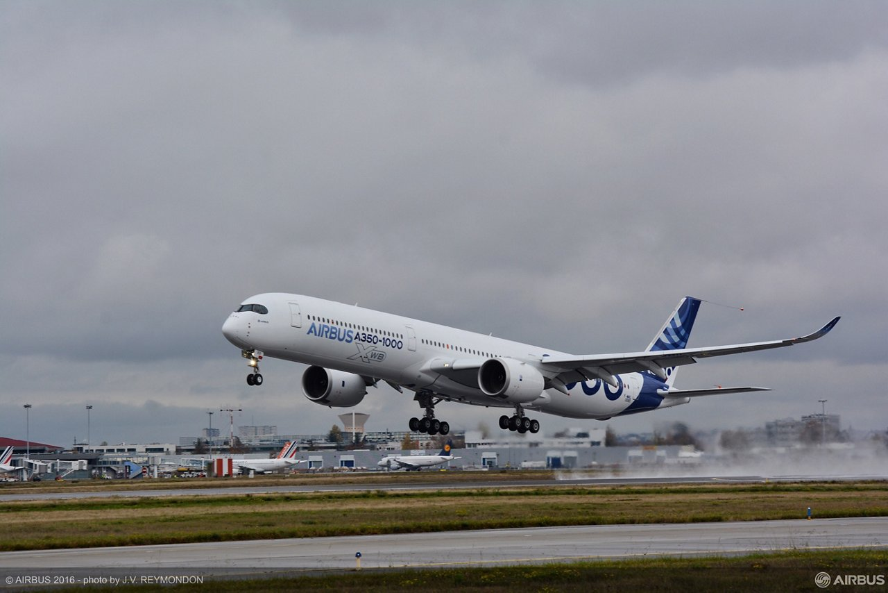 A350 1000 First Flight 3